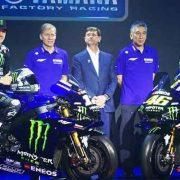 Livery Baru Team Yamaha MotoGP Monster Energy Dihiasi Biru dan Hitam