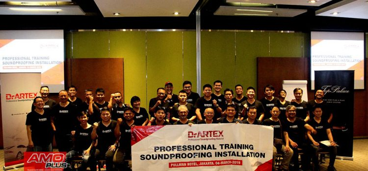 Professional Training Soundproofing Installation by DrArtex