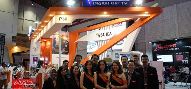 Kejutan Produk Terbaru ASUKA CAR TV Meramaikan GIIAS 2019