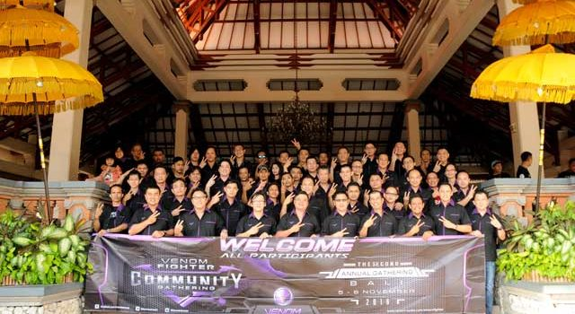 Venom Fighter Community The Second Annual Gathering in Bali