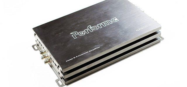 PERFORMA Power Amplifier Class D Fullrange 4 Kanal