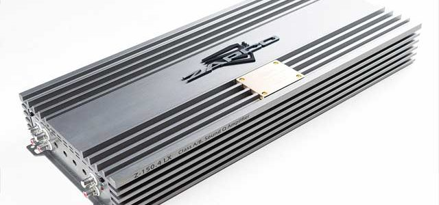 Power Amplifier Fullrange 4 kanal Zapco Z-150.4 LX