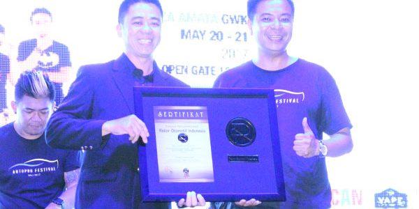 Autopro Festival 2K17 Sukses Catatkan Diri Dalam Rekor Otomotif Indonesia (ROI)