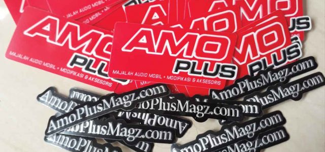 Sticker Emboss, Sarana Promosi Berjalan Zaman Now