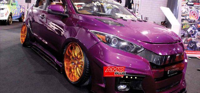 Brown In Purple
