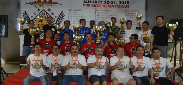DAFTAR JAWARA GRAND FINAL USACI INDONESIA @MGK 20 – 21 JANUARI 2018