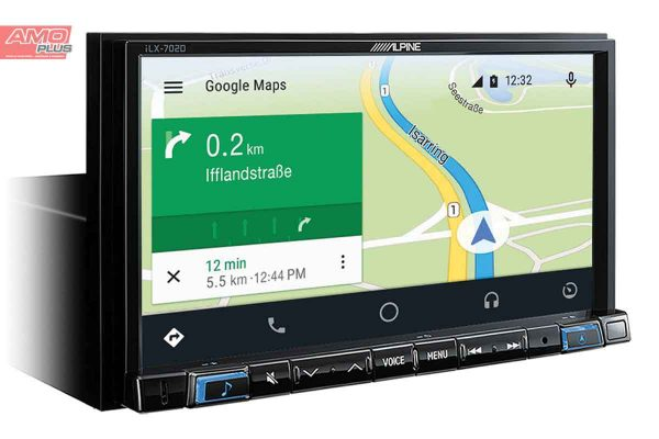 Online-Navigation-System-iLX-702D-AndroidAuto-map