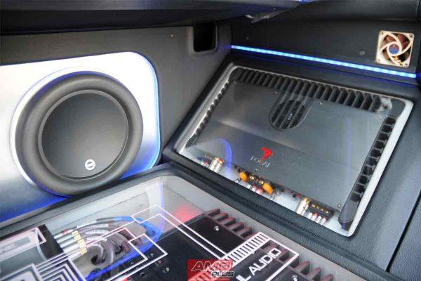 Amplifier-Subwoofer