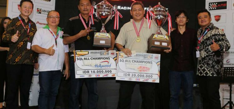 1 Mobil SQ & 1 Mobil SQL Resmi Menyabet Gelar Campion of Champion (COC) PAHAMI 2018
