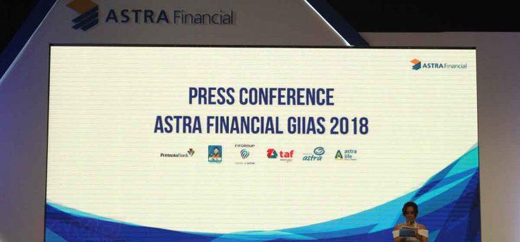 Astra Financial Berikan Beragam Solusi Keuangan di GIIAS 2018.