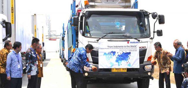 Ekspor All New Ertiga dan NEX II Komitmen Suzuki dari Indonesia untuk Internasional