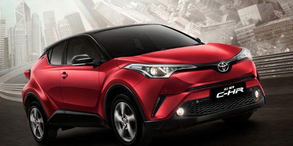 Ternyata Toyota C-HR Mengambil Segmen Pasar Dengan Potensi Volume Kecil