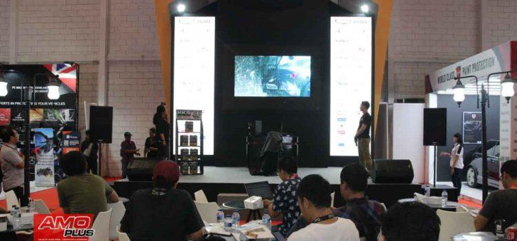 HKS Di Telkomsel Indonesia Internasional Motor Show 2019