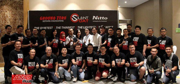 Peresmian kerjasama PT. Audio Plus Indonesia dan PT. Nitto Materials Indonesia