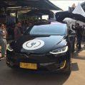 Naik Taksi Blue Bird Tesla, Berapa Biayanya Argo ?