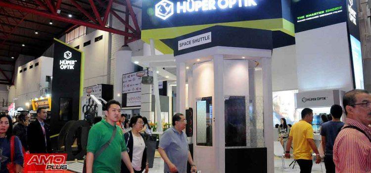 Huper Optik tampil dengan booth exclusive di Telkomsel IIMS 2019