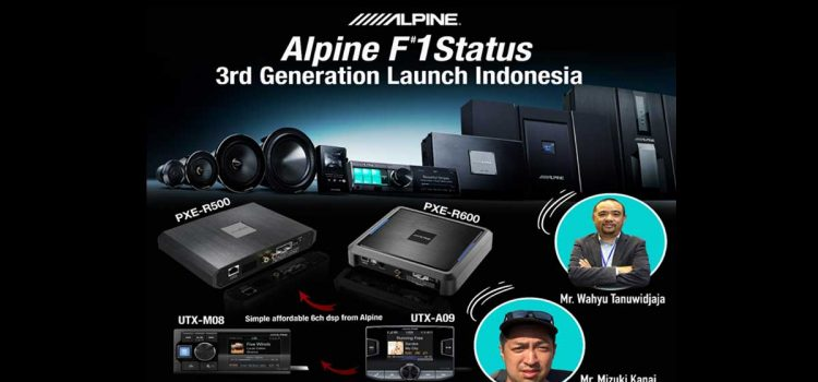 """AlpineF#1Status Gen.3 ; The Pinnacle of Car Audio, Creates Atmosphere with """"Perfect Sync"""""""